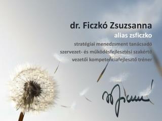 dr. Ficzkó Zsuzsanna
