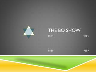 The Bo Show