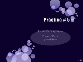 Práctica # 5