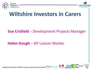 Wiltshire Investors in Carers