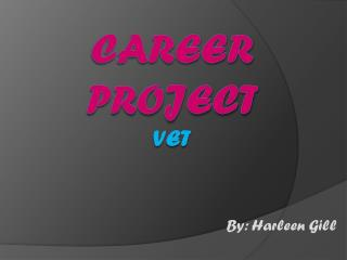 Career Project Vet
