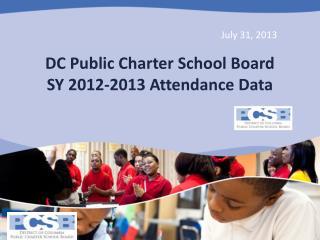 DC Public Charter School Board SY 2012-2013 Attendance Data