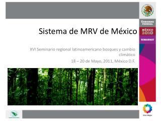 Sistema de MRV de M�xico