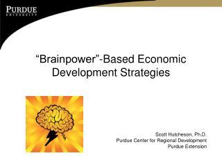 �Brainpower�-Based Economic Development Strategies
