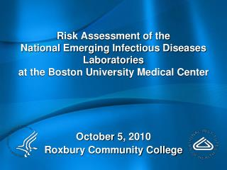 October 5, 2010 Roxbury Community College