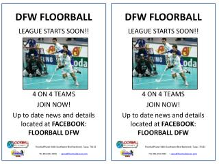 DFW FLOORBALL