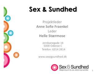 Sex & Sundhed
