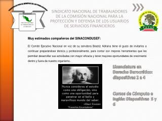 Plan de Estudios Licenciatura en Derecho Burocrático