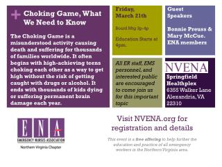 Visit  NVENA  for registration and details