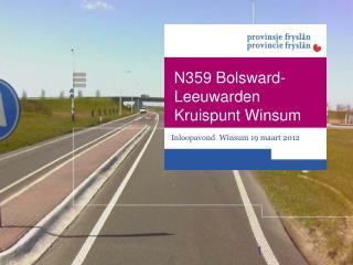 Inloopavond Winsum  19  maart  2012