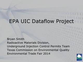 EPA UIC Dataflow Project