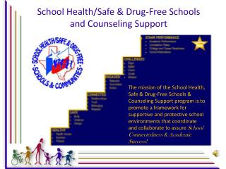 School Health/Safe & Drug-Free Schools and Counseling Support