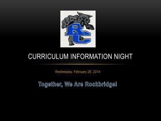 Curriculum information night