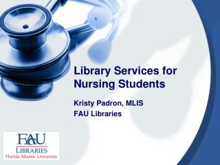 Library Services for Nursing Students