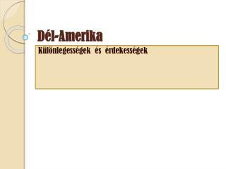 D él-Amerika