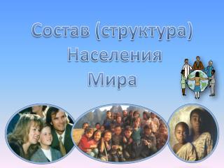 Состав ( структура)  Населения Мира