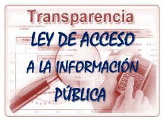 LEY DE ACCESO