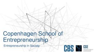 Copenhagen School of Entrepreneurship