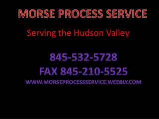 Serving the Hudson Valley