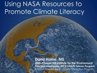 Using NASA Resources to Promote Climate Literacy