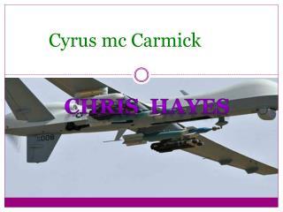 Cyrus mc  Carmick