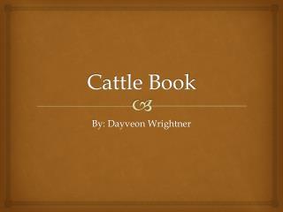 Cattle Book