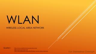 WLAN Wireless  local  Area Network