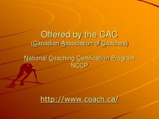 coach/