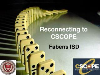 Reconnecting to  CSCOPE