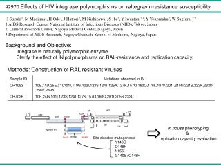 Site directed mutagenesis Y143C Q148H N155H G140S+Q148H