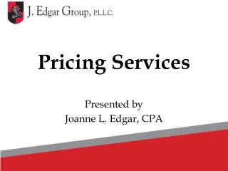 Pricing Services