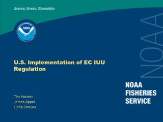U.S. Implementation of EC IUU Regulation