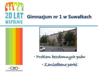 Gimnazjum nr 1 w Suwałkach