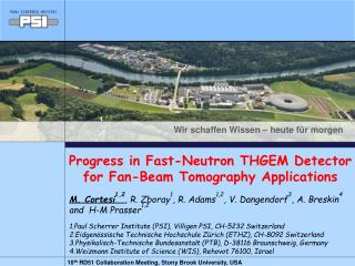Progress in Fast-Neutron THGEM Detector for Fan-Beam Tomography Applications