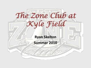 The Zone Club at Kyle Field