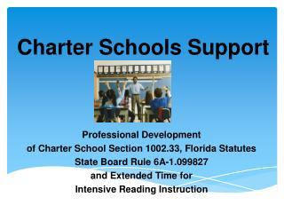 Charter Schools Support
