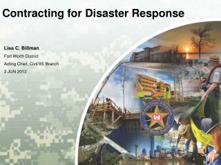 Contracting for Disaster Response