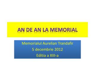 An de an la Memorial