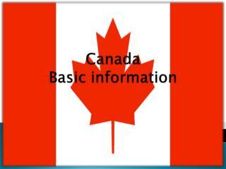 Canada Basic  information
