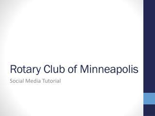 Rotary Club of Minneapolis