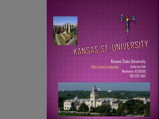 Kansas St .  University