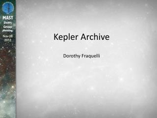 Kepler Archive