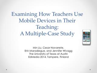 Examining How Teachers Use Mobile Devices in Their Teaching:  A Multiple-Case Study