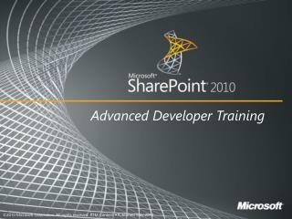 Exposing Business Intelligence with SharePoint 2010
