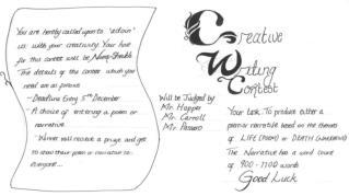 creative writing rules