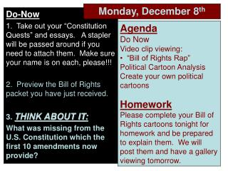 Bill of Rights Video Clips