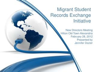 Migrant Student Records Exchange Initiative