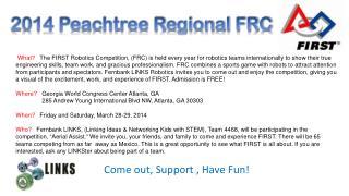 2014 Peachtree Regional FRC