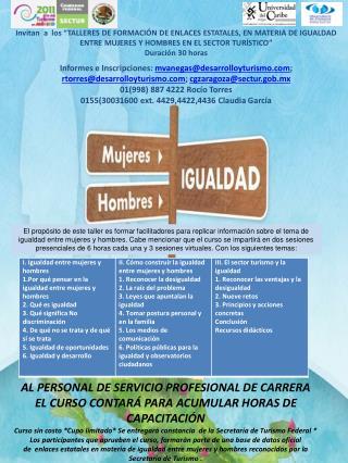 AL PERSONAL DE SERVICIO PROFESIONAL DE CARRERA
