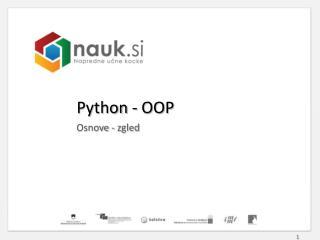 Python  - OOP